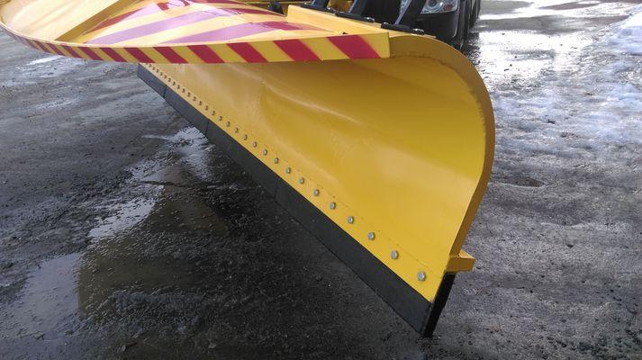 Скребки полиуретановые для дорожной техники