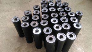 валы полиуретановые, ролики конвейерные