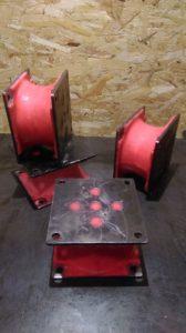 виброопоры полиуретановые, восстановление узлов оборудования