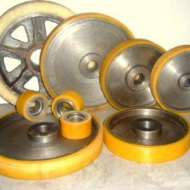 Футеровка колес полиуретаном