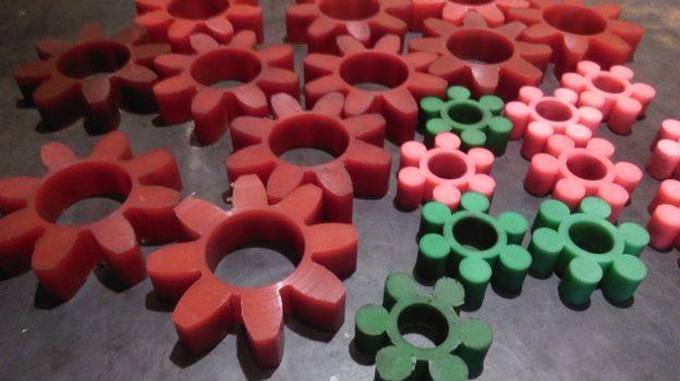 Использование полиуретана в муфтах типа Ротекс
