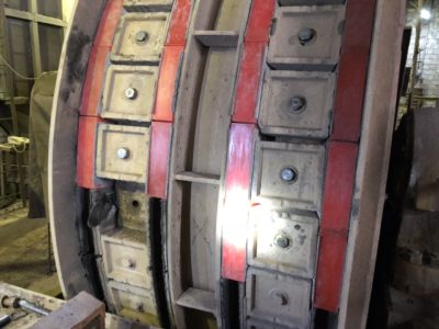 Футеровка барабанов канатноподъемных машин и отклоняющих шкивов главное фото