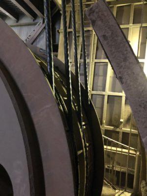 Футеровка барабанов канатноподъемных машин и отклоняющих шкивов 1