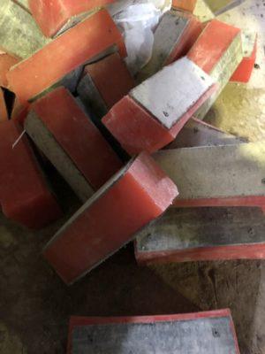 Футеровка барабанов канатноподъемных машин и отклоняющих шкивов 4