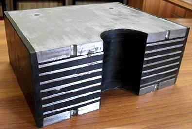 Резиновые опорные части (РОЧ, РОЧс, РОЧр, ЛРОЧ, ЛПРОЧ, НРОЧ) главное фото